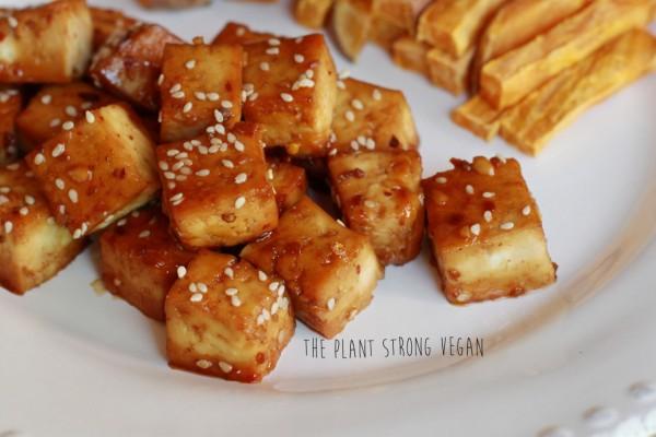 ... spicy tofu orange beef style tofu stir fry spicy sweet fried tofu buns